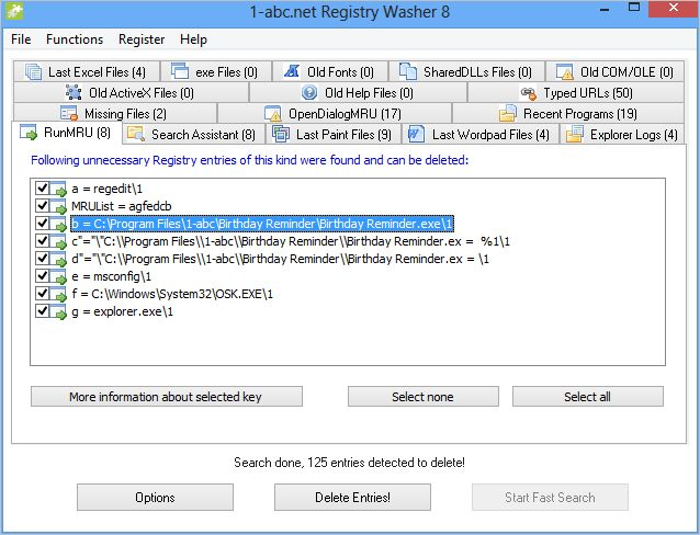 1-abc.net Registry Washer 7.00 full
