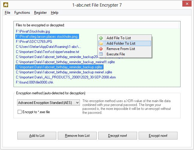 1-abc.net File Encrypter
