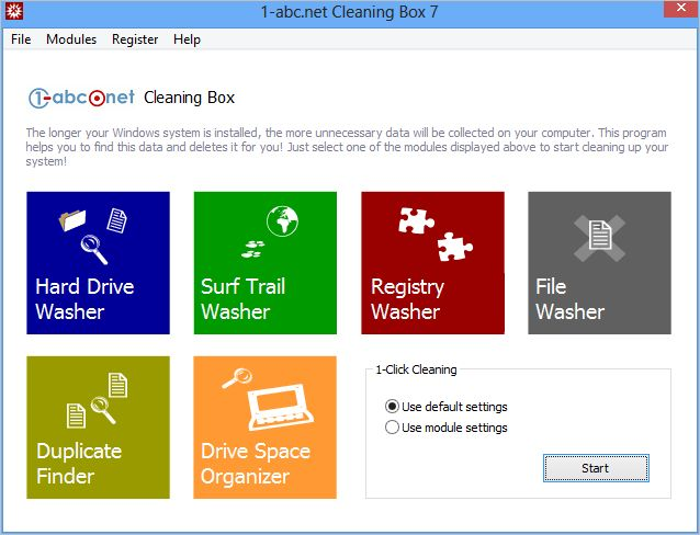 1-abc.net Cleaning Box