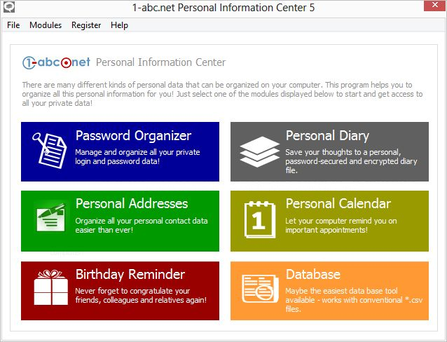 1-abc.net Personal Information Center